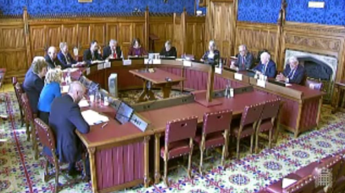 "Towards entry ""Prof. Gardini, PhD, gives witness to the House of Lords on the Pacific Alliance"""