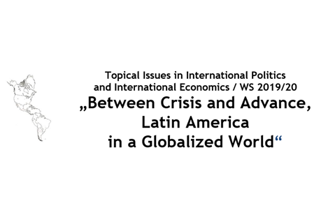 "Towards entry ""Vortrag 13.11.19: ""Bolsonaro Government: Where is Brazilian foreign policy going in a globalised world?"""""